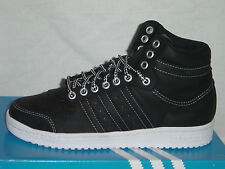 MENS ADIDAS TOP TEN HI TRAINERS LEATHER NUTBUCK BLACK G42560