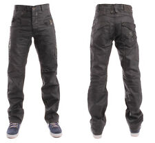 MENS NEW ETO 9901 DESIGNER EM119 JEANS BLACK *REDUCED BARGAIN SALE PRICE*