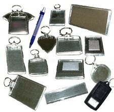 Blank Keyrings, Fridge Magnets, Pens, Rulers All Sizes Available, New & Sealed
