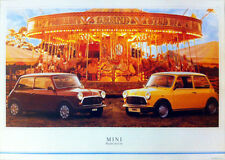 Mini Mayfair & City POSTER 1980's Picture Print Poster (Austin / Morris 1100