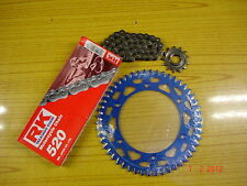 RK Chain And RFX Blue Sprocket Kit YZ YZF WRF WR 125/250/400/426/450