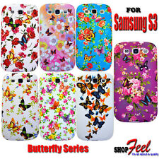 7 Flower Soft Case Cover + Free Screen Protector For Samsung Galaxy S3 I9300