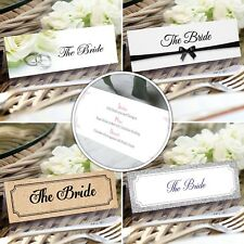 Personalised Wedding Place Cards *FREE DRAFT*