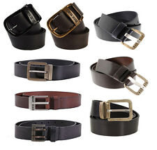 MENS DIESEL BELT - 100% GENUINE DIESEL LEATHER BELT - ALL SIZES (NEW COLLECTION)