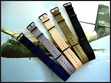 NATO G10 Prem Ballistic PVD MoD RAF Military watch band strap Bonded IW SUISSE