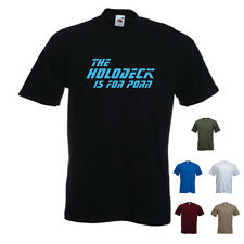 'The Holodeck is for porn' Funny Star Trek Next Generation / Geek  T-shirt