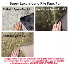 Super Luxury Long Pile Faux Fur Fabric, HIGH QUALITY
