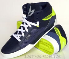 ADIDAS ORIGINALS MENS TRAINERS, SHOES, ATTITUDE VULC UK 7 to 10 NAVY