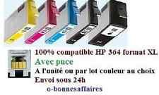 CARTOUCHES COMPATIBLES HP364 XL AVEC PUCE Photosmart e-All-in-One 5514 5515