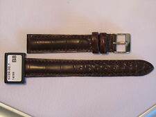 CONDOR PADDED GENUINE ALLIGATOR LEATHER WATCH STRAP 622R