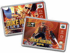 DUKE NUKEM 64 & ZERO HOUR Nintendo 64 N64 Cover Art Fridge Magnet