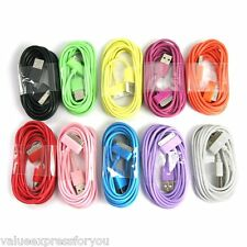 USB Data Sync Charger Cable For iPhone 3G 3GS 4 4S iPod Touch Nano iPad 1 2 3