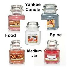 Yankee Candle FOOD & SPICE 14.5oz Medium Jar VARIETY