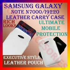ACM-VERTICAL LEATHER CARRY CASE POUCH COVER for SAMSUNG GALAXY NOTE N7000 I9220
