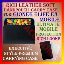 ACM-RICH LEATHER SOFT CARRY CASE for GIONEE ELIFE E3 MOBILE HANDPOUCH COVER CASE
