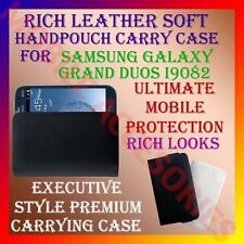 ACM-RICH LEATHER SOFT CARRY CASE for SAMSUNG GALAXY GRAND DUOS i9082 HANDPOUCH