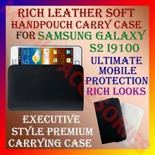 ACM-RICH LEATHER SOFT CARRY CASE for SAMSUNG GALAXY S2 i9100 HANDPOUCH COVER NEW