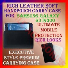 ACM-RICH LEATHER SOFT CARRY CASE for SAMSUNG GALAXY S3 i9300 HANDPOUCH COVER NEW