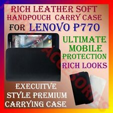ACM-RICH LEATHER SOFT CARRY CASE LENOVO P770 MOBILE HANDPOUCH COVER PROTECTION