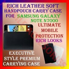 ACM-RICH LEATHER SOFT CARRY CASE SAMSUNG GALAXY NOTE N7000 HANDPOUCH COVER POUCH