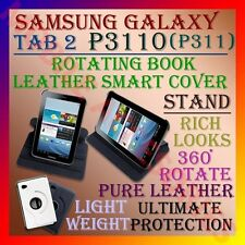 "ACM-Samsung Tab 2 P3110 P311 7"" 360° Rotating Leather Cover Case Stand Rotate"