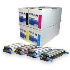 REMANUFACTURED HP 642A / CB400A CB401A CB402A CB403A LASER TONER CARTRIDGES