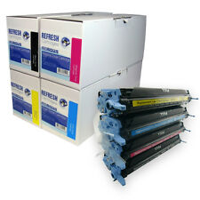 REMANUFACTURED HP 124A / Q6000A Q6001A Q6002A Q6003A LASER TONER CARTRIDGES