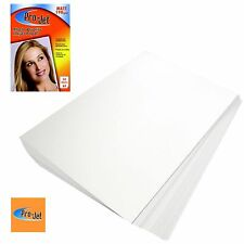 PRO-JET A4 PHOTO PAPER 50 SHEETS / PACK 190GSM MATT FINISH + MULTI BUY DISCOUNT