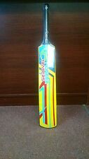 "Pioneer ""FAT"" Fiberglass Cricket Tape Ball Bat,With FREE Bat Cover"