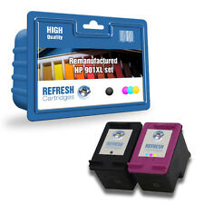 HP 901XL/901 BLACK AND TRI-COLOUR REMANUFACTURED INK CARTRIDGE VALUE PACKS