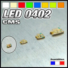 144# SMD LED 0402 :white, Warm white, red, blue, yellow, orange, green,