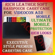 ACM-RICH LEATHER SOFT CARRY CASE for VIDEOCON A52 MOBILE HANDPOUCH COVER PROTECT