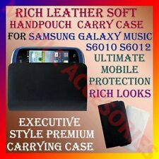 ACM-RICH LEATHER SOFT CARRY CASE for SAMSUNG GALAXY MUSIC S6010 S6012 HANDPOUCH