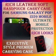 ACM-RICH LEATHER SOFT CARRY CASE for SAMSUNG GALAXY POP I559 MOBILE HANDPOUCH