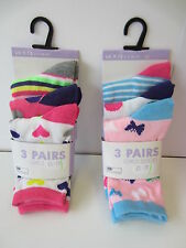 Girls Socks 3 Pack SK334