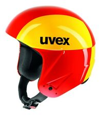 UVEX S56603536 Skihelm Race 2 GFK chilired/yellow