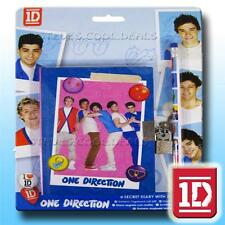 1D ONE DIRECTION Official Diarys Signature Gel Pens Pencils Eraser Poster Books