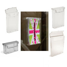 OUTDOOR LEAFLET HOLDER FLYER MENU DISPLAYS & BUSINESS CARD HOLDERS DL, A5 & A4