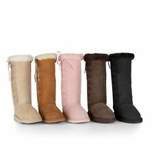 Ugg Boots - Adult Long Side Lace Boot - Sheepskin Ugg Boots