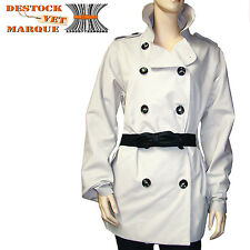 Manteau imperméable I.CODE by IKKS trench Coat femme beige taille 42