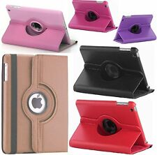 New 360 Degree Leather Rotating Stand Skin Case Cover For NEW Apple iPad Air 5