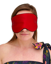 BNWT Womens Padded Silk Sleep Mask - Available in 3 Colours