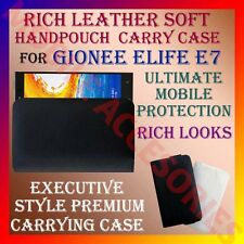 ACM-RICH LEATHER SOFT CARRY CASE for GIONEE ELIFE E7 MOBILE HANDPOUCH COVER CASE