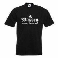 T-Shirt Bayern ..harder than the rest, Städteshirt S - 12XL (SFU03-32a)