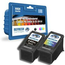 REMANUFACTURED PG-540XL CL-541XL CANON PIXMA -2 INK CARTRIDGE EVERYDAY VALUEPACK
