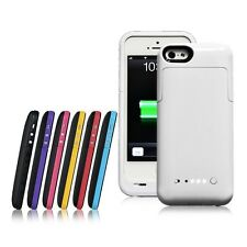 For Apple iPhone 5 5S External Spare 2200mAh Backup Battery Charger Pack Cover