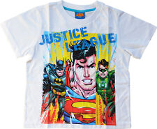 T-SHIRT JUSTICE LEAGUE - SUPER HEROS - COMICS - NEUF - TAILLE 3 à 10 ANS