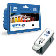REFRESH CARTRIDGES BLACK 30XL / 3952363 INK COMPATIBLE WITH KODAK PRINTERS
