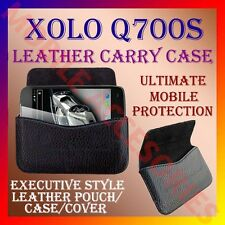 ACM-HORIZONTAL LEATHER CARRY CASE for XOLO Q700S MOBILE POUCH COVER RICH HOLDER