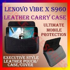 ACM-HORIZONTAL LEATHER CARRY CASE for LENOVO VIBE X S960 MOBILE POUCH COVER CASE